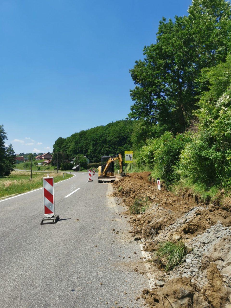Novi kilometri trase omrežja RUNE v občini Šentilj